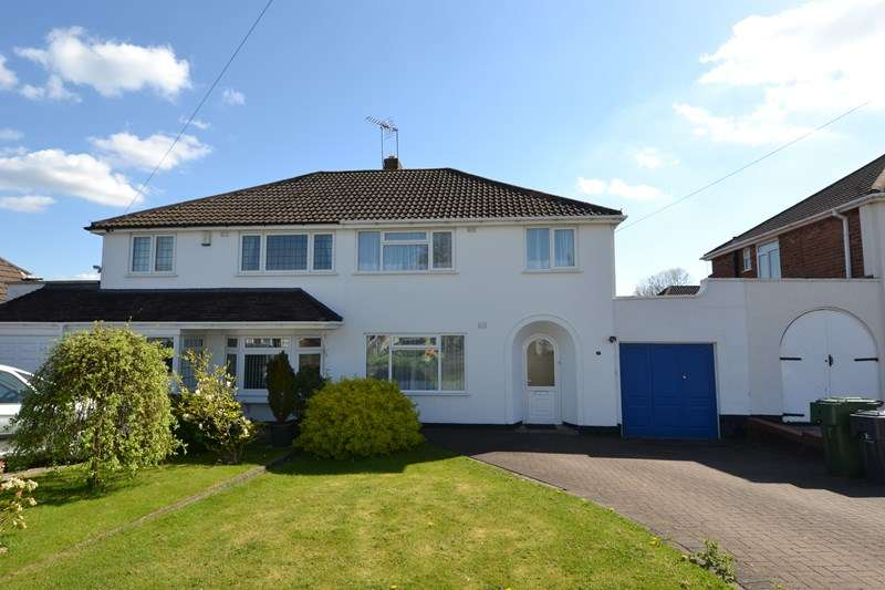 3 Bedrooms Semi Detached House for sale in Waseley Road, Rubery, Birmingham