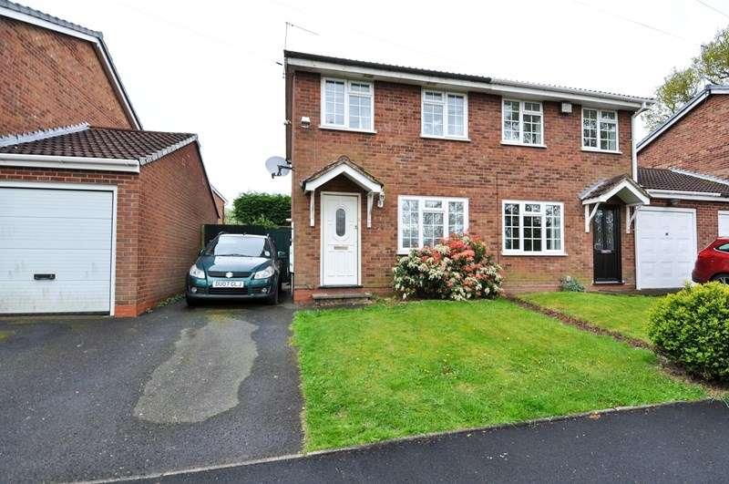 2 Bedrooms Semi Detached House for sale in Open Field Close, Northfield, Birmingham