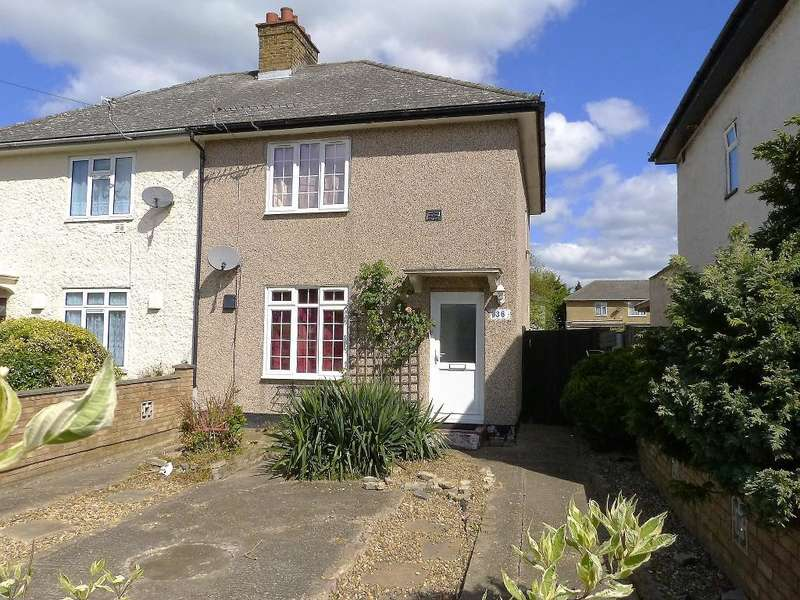 2 Bedrooms Semi Detached House for sale in Browngraves Road, Harlington, UB3 5BN