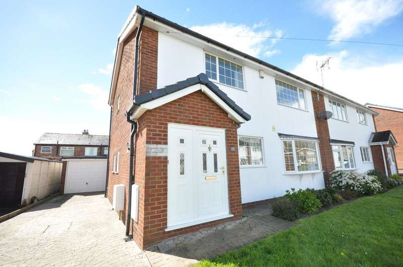 4 Bedrooms Semi Detached House for sale in Hawthorne Avenue, Newton with Scales, Preston, Lancashire, PR4 3TB