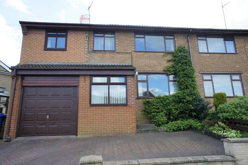 4 Bedrooms Semi Detached House for sale in Coronation Road, Stocksbridge, Sheffield, S36 1AX