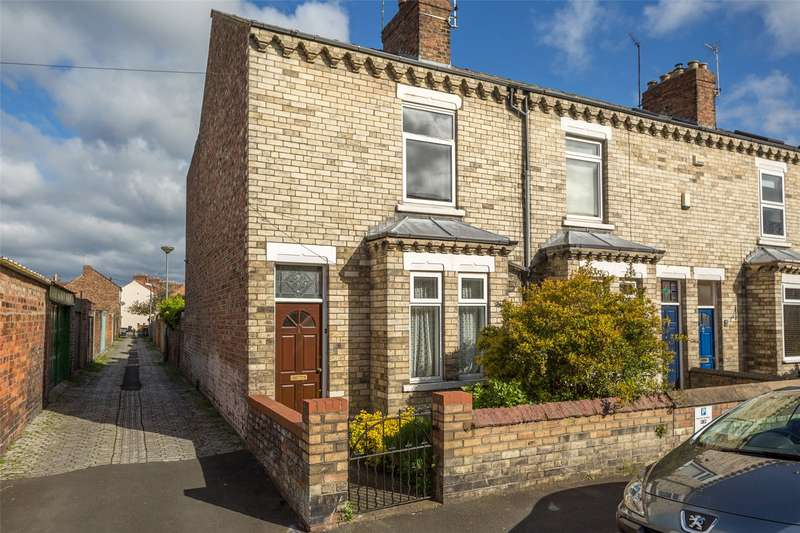 2 Bedrooms End Of Terrace House for sale in Emerald Street, York, YO31