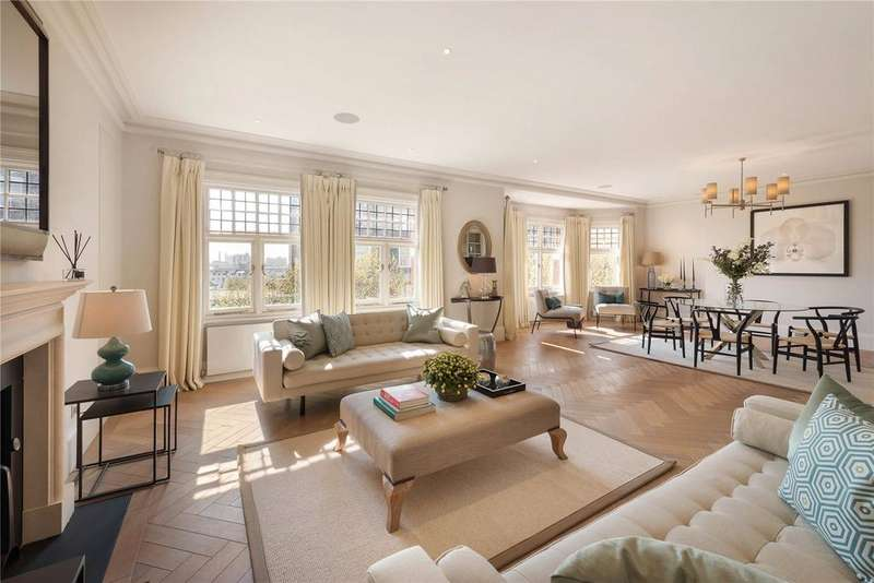4 Bedrooms Flat for sale in Cadogan Court, Chelsea, London, SW3