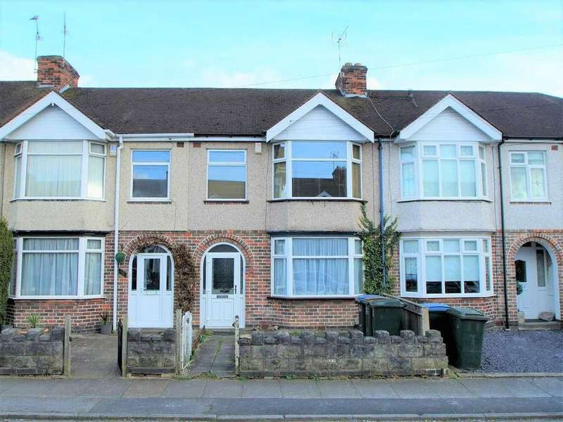 3 Bedrooms Terraced House for sale in Edyth Road, Wyken