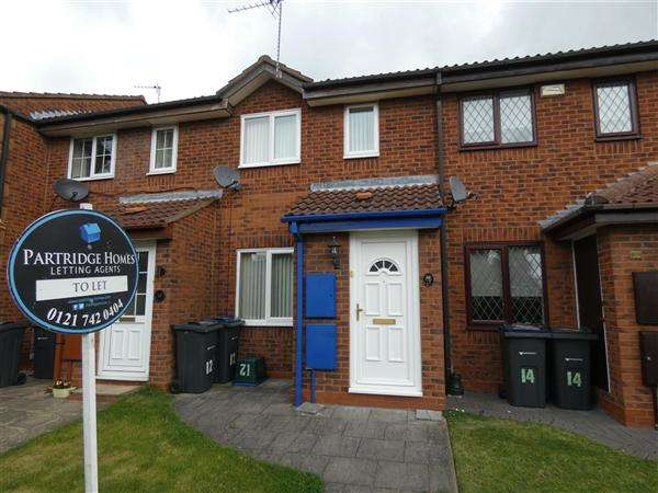 2 Bedrooms Terraced House for rent in Gideon Close, South Yardley, Birmingham