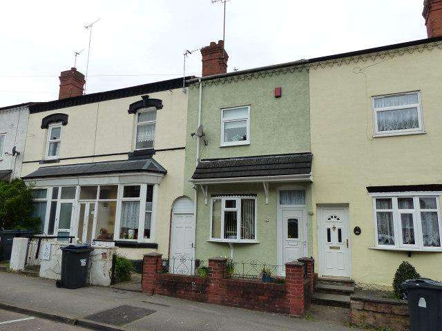 2 Bedrooms Terraced House for sale in Ashley Road,Erdington,Birmingham