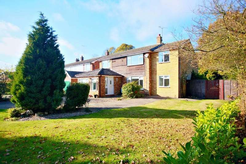 4 Bedrooms Detached House for sale in Armoury Road, West Bergholt, West Colchester
