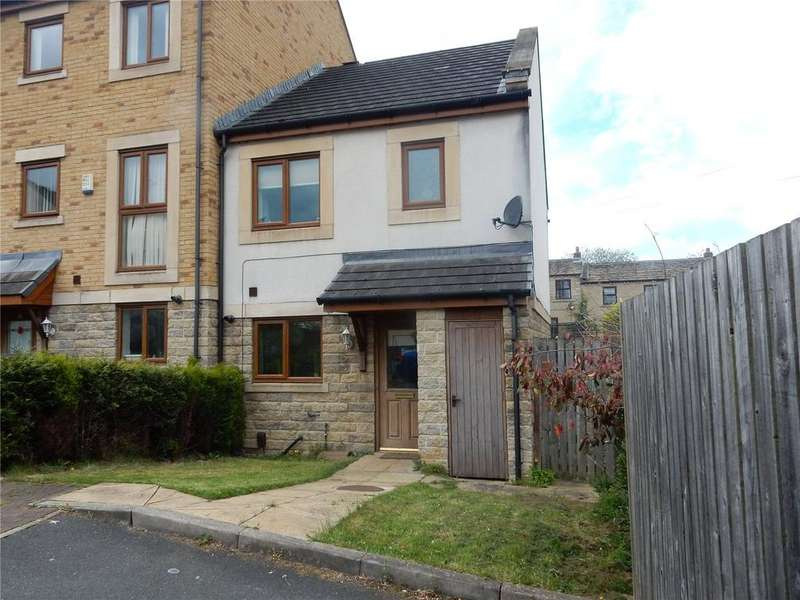 3 Bedrooms End Of Terrace House for sale in Greenlea Court, Dalton, Huddersfield, HD5