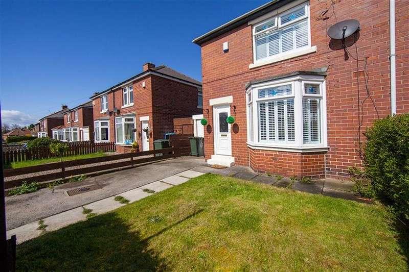 2 Bedrooms Semi Detached House for sale in Mason Road, High Farm, Wallsend, NE28