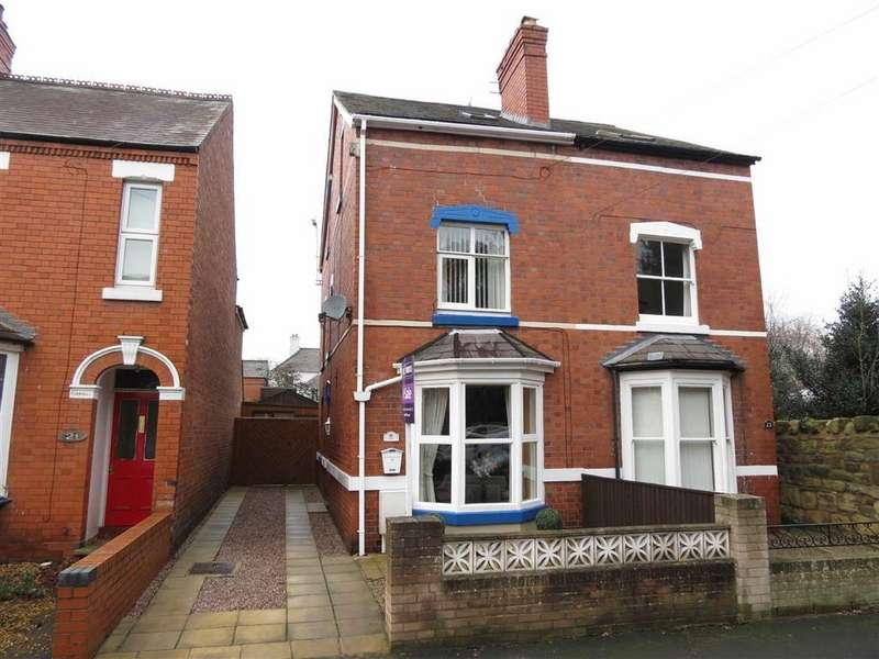 4 Bedrooms Semi Detached House for sale in Hotspur Street, Greenfields, Shrewsbury, Shropshire