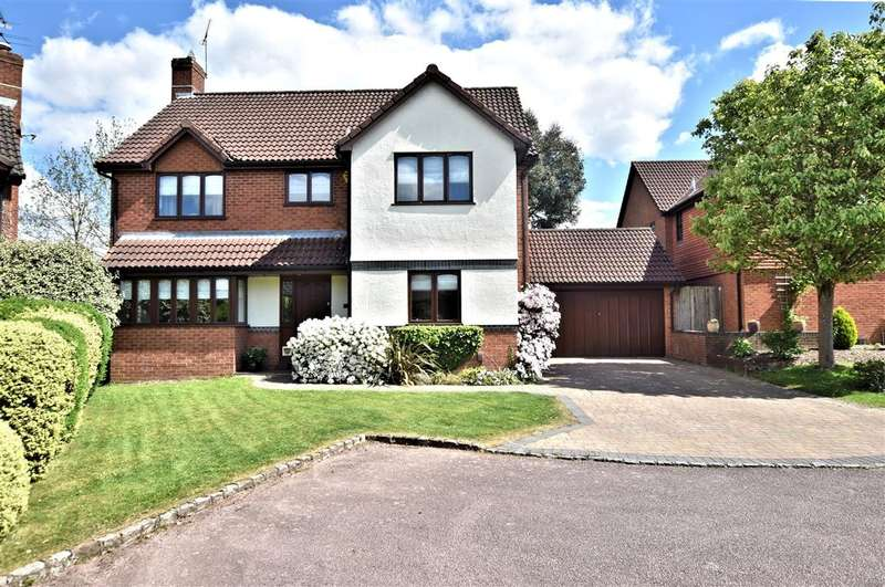 4 Bedrooms Detached House for sale in Woodward Close, Winnersh, Wokingham, RG41