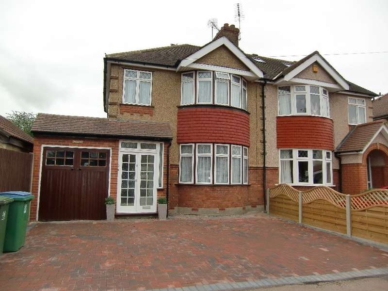 3 Bedrooms Semi Detached House for sale in Northfield Gardens, North Watford,WD24