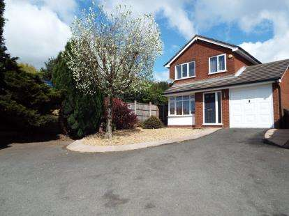 4 Bedrooms Detached House for sale in Bond Way, Hednesford, Cannock, Staffordshire