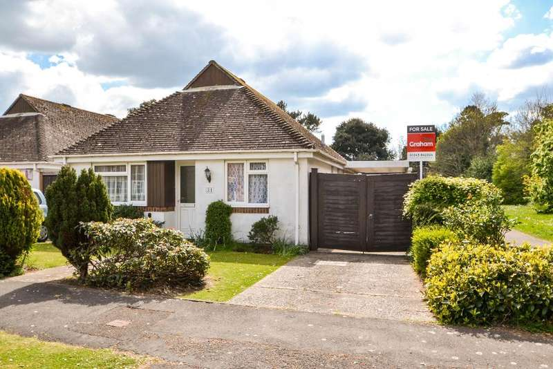 2 Bedrooms Bungalow for sale in Bradlond Close, Aldwick Felds, Bognor Regis, West Sussex, PO21 2RQ