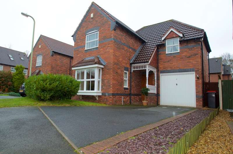 3 Bedrooms Detached House for sale in Merganser Close, Telford, Shropshire, TF1
