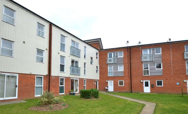 2 Bedrooms Flat for sale in Holman court, Ipswich, Suffolk, IP2
