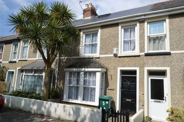 3 Bedrooms Terraced House for sale in Ennors Road, Newquay, Cornwall