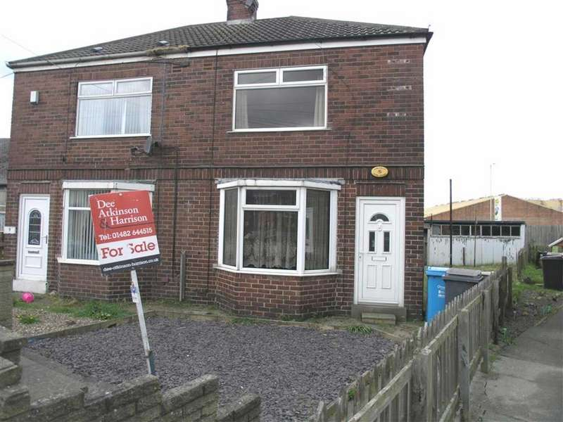 2 Bedrooms End Of Terrace House for sale in Kathleen Road, Hull