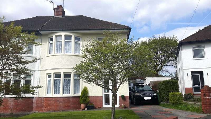 3 Bedrooms Semi Detached House for sale in Nant Fawr Close, Cyncoed, Cardiff, CF23