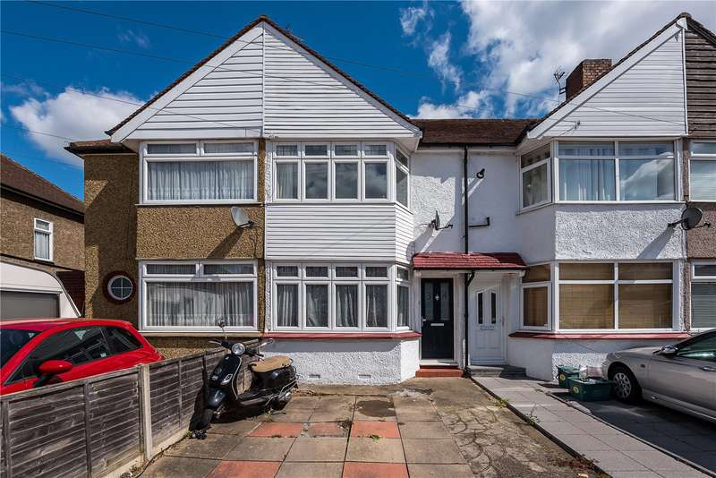 2 Bedrooms Terraced House for sale in Hanover Avenue, Feltham, TW13