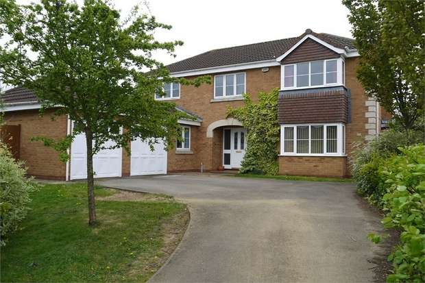5 Bedrooms Detached House for sale in 16 Simborough Way, Market Harborough, Leicestershire