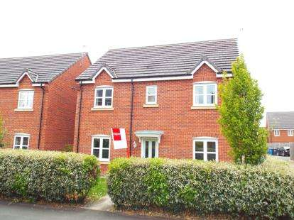 4 Bedrooms Detached House for sale in Rylands Drive, Warrington, Cheshire