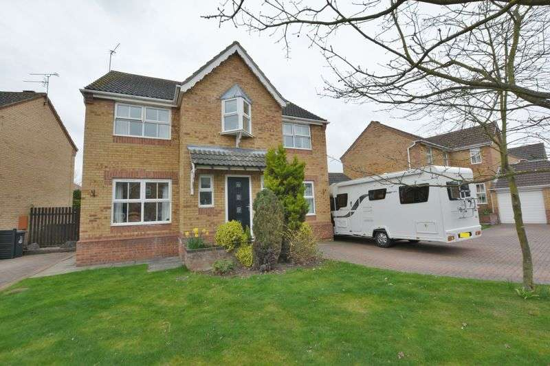4 Bedrooms Detached House for sale in Baker Crescent, Doddington Park, Lincoln