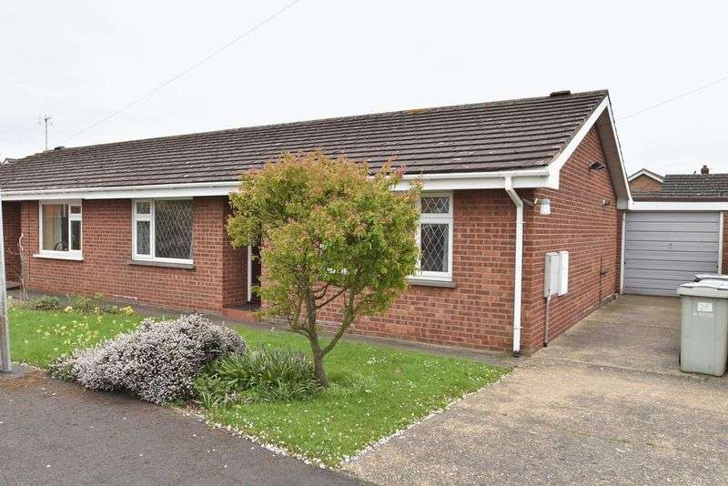 2 Bedrooms Semi Detached Bungalow for sale in Christopher Close, Louth