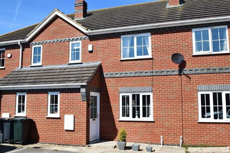 3 Bedrooms Terraced House for sale in Woolpack Meadows, Louth
