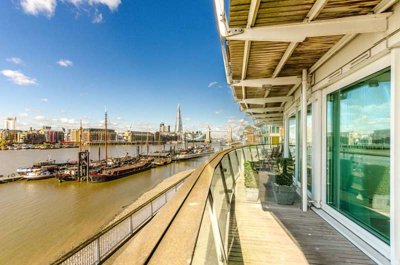2 Bedrooms Flat for sale in Cinnabar Wharf, Wapping, E1W
