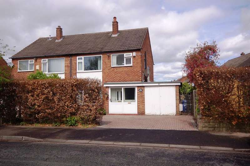 3 Bedrooms Semi Detached House for sale in Elmsleigh Road, Heald Green, Cheadle, Cheshire SK8