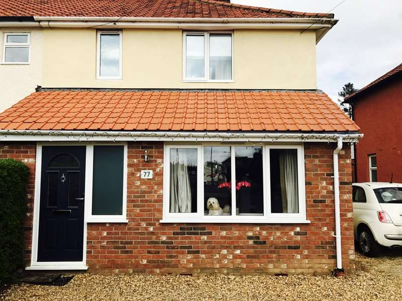 4 Bedrooms Semi Detached House for sale in Blackwell Avenue, Norwich, Norfolk, NR7