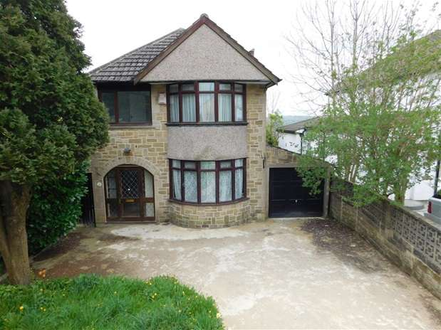 3 Bedrooms Detached House for sale in Sunny Brow Lane, Heaton, Bradford