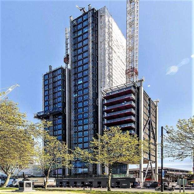 3 Bedrooms Apartment Flat for sale in Merano Residences Albert Embankment, Southwark, SE1