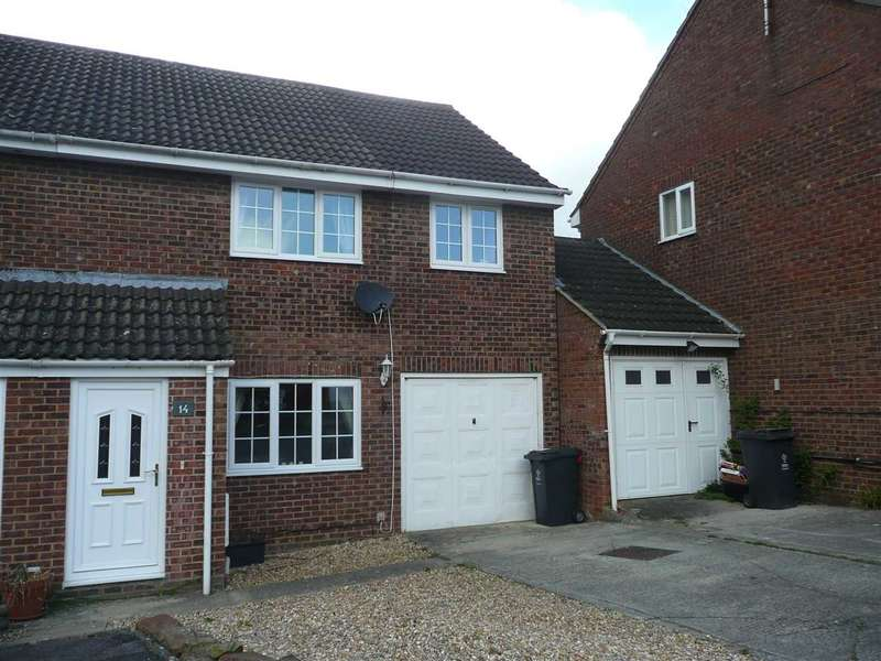 3 Bedrooms End Of Terrace House for sale in Wakefield Close, Freshbrook, Swindon