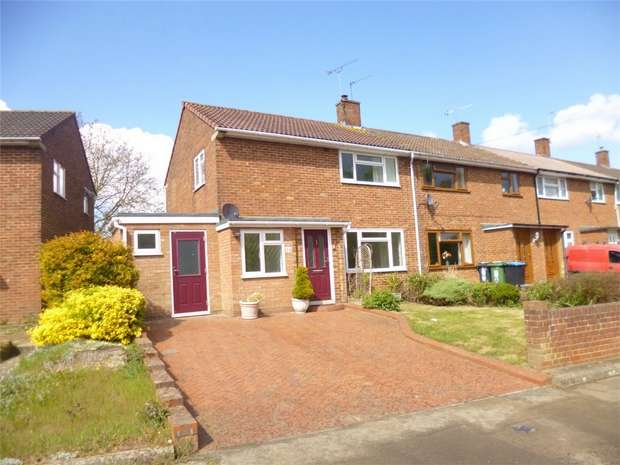 3 Bedrooms End Of Terrace House for sale in White Hart Drive, Adeyfield, HEMEL HEMPSTEAD, Hertfordshire