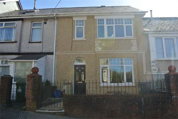 2 Bedrooms Terraced House for sale in Twmpath Road, PONTYPOOL