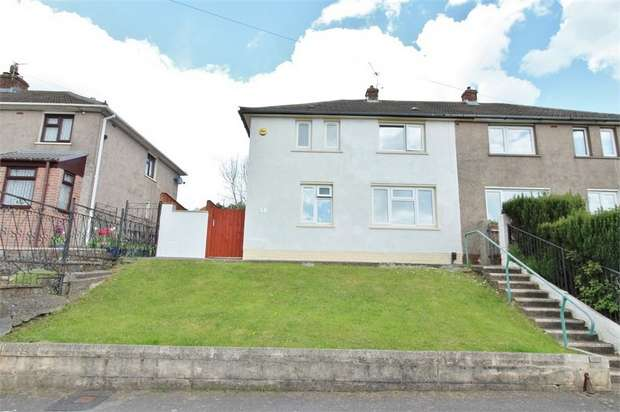 2 Bedrooms Semi Detached House for sale in Granville Close, Rogerstone, NEWPORT