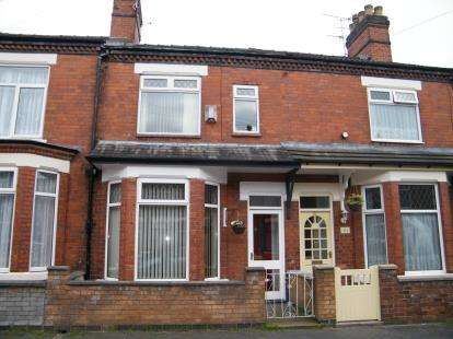 3 Bedrooms Terraced House for sale in Richard Street, Crewe, Cheshire