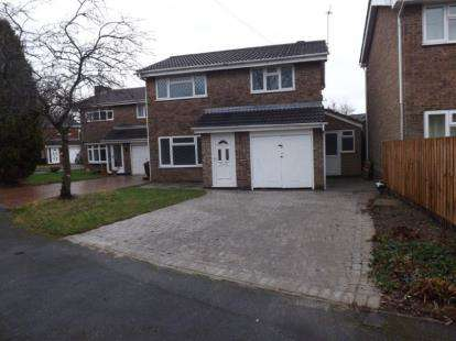4 Bedrooms Detached House for sale in Windsor Close, Coalville