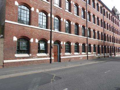 1 Bedroom Flat for sale in William Bancroft Buildings, Robin Hood Street, Nottingham, Nottinghamshire