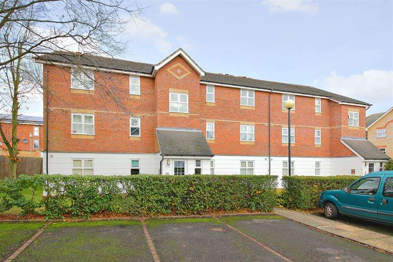 2 Bedrooms Flat for sale in Harper Close, Oakwood