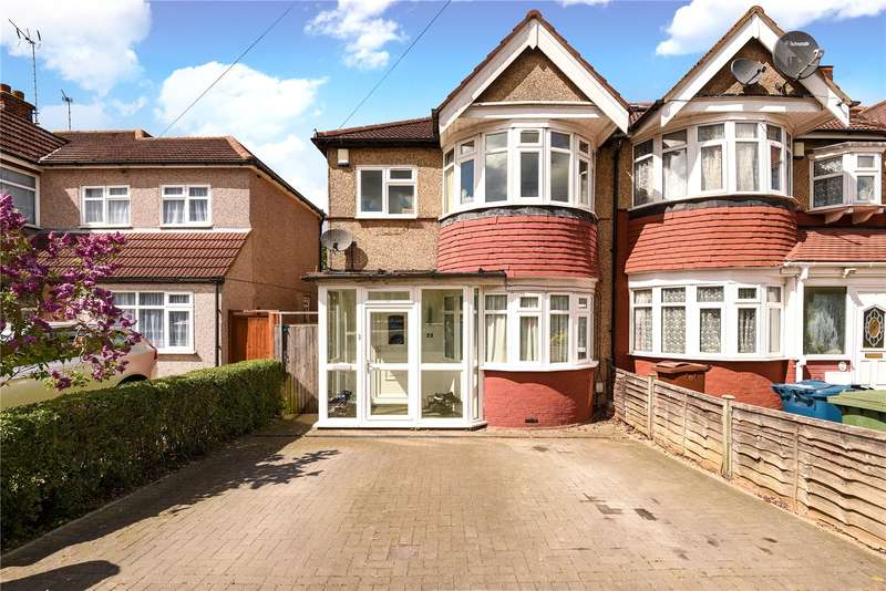 3 Bedrooms End Of Terrace House for sale in Yeading Avenue, Harrow, Middlesex, HA2