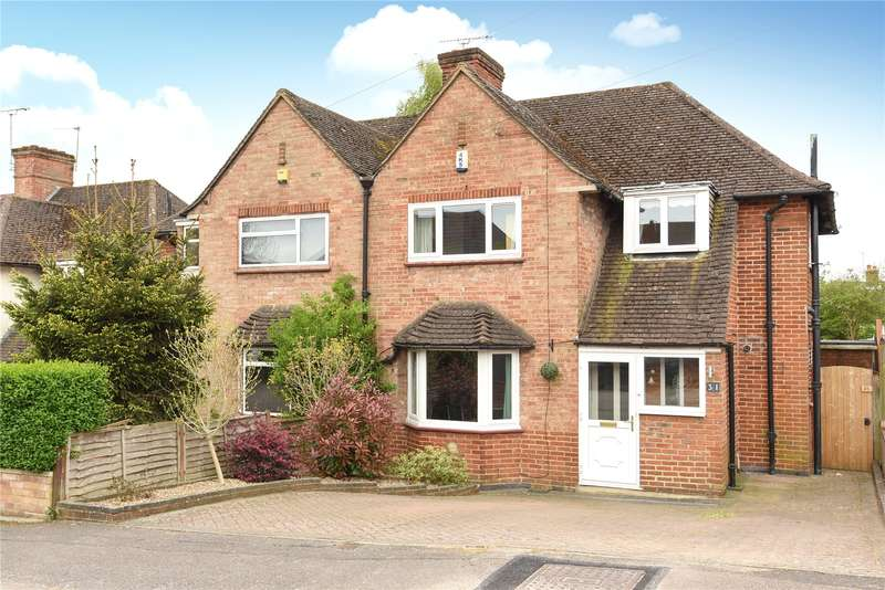 3 Bedrooms Semi Detached House for sale in The Greenway, Mill End, Hertfordshire, WD3