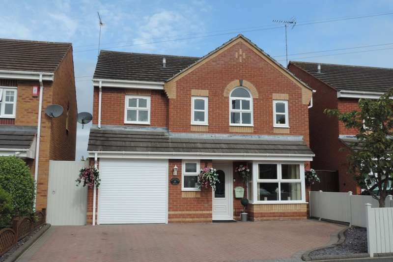 4 Bedrooms Detached House for sale in Mahogony Drive, Stafford, Staffs