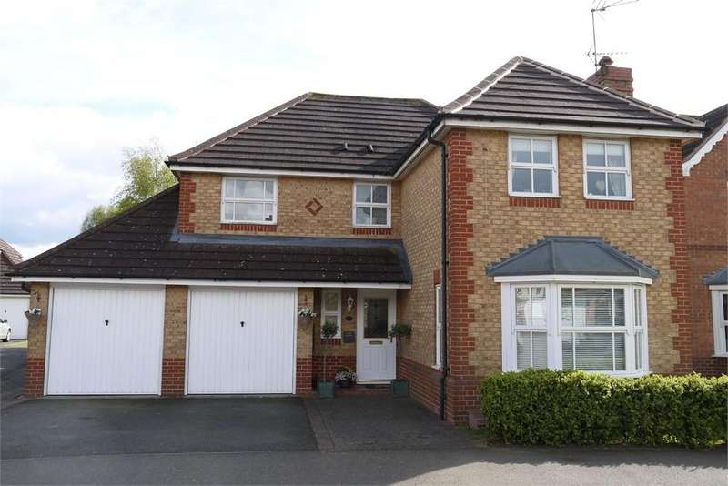 4 Bedrooms Detached House for sale in Azalea Close, Lutterworth, Leicestershire