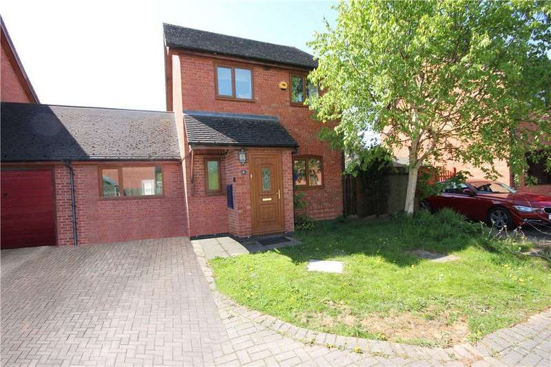 3 Bedrooms Link Detached House for sale in The Willows, Lower Bullingham, Hereford, Herefordshire, HR2