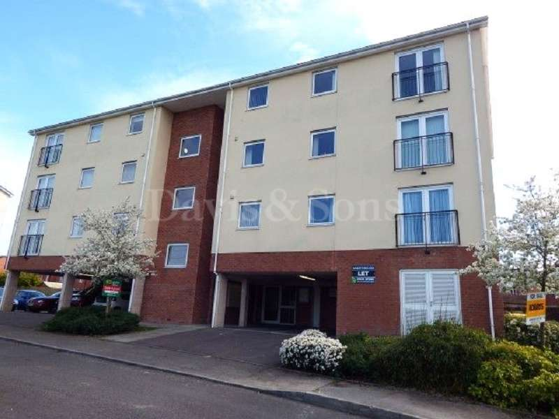 2 Bedrooms Flat for sale in Liberty Grove, Off Corporation Road, Newport. NP19 0NA