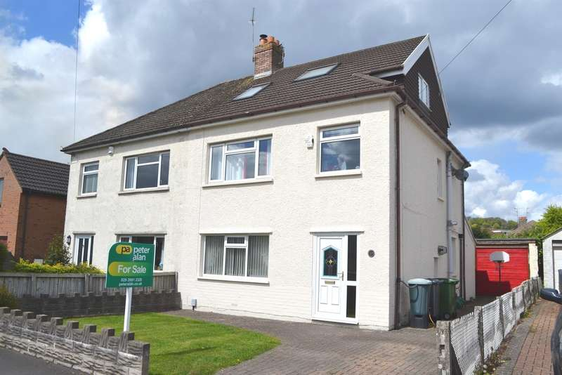 4 Bedrooms Semi Detached House for sale in Lon Y Celyn, Cardiff