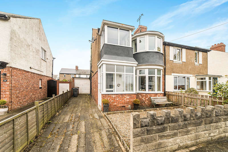 3 Bedrooms Semi Detached House for sale in Wellington Avenue, Wellfield, Whitley Bay, NE25